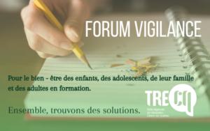 forum vigilance pour la réussite éducative